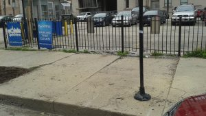 Unlevel Sidewalk